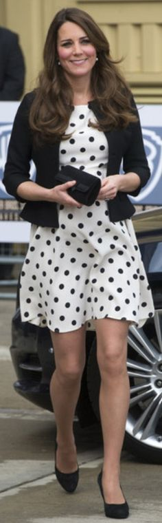 Catherine, The Duchess of Cambridge. Royal Dots