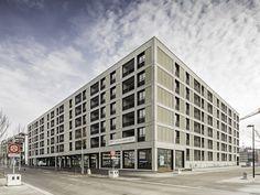 Auszeichnung - Wohnungsbau   Mehrfamilienhäuser: Glattpark Mitte, Think Architecture AG, © Radek Brunecky