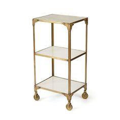 Edenrose Side Table, Gold