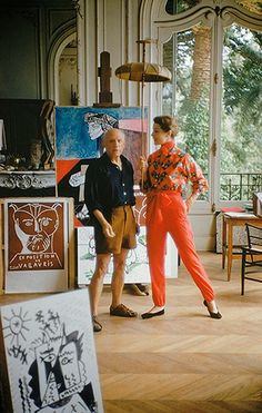 Pablo Picasso with Bettina: In-depth history, analysis and art prints at: www.pablopicassoguernica.com