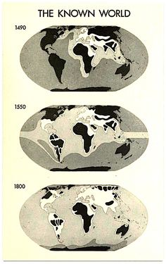 More like the known planet. It's amazing how modern cartography has changed the way we view the world.