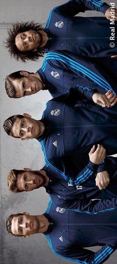 Sergio Ramos, James Rodriguez, Gareth Bale, and Marcelo da Silva Jr. Real Madrid Cristiano Ronaldo, Club Football, Sport Football, Real Madrid Players, Real Madrid Football, Good Soccer Players, Football Players, Soccer Teams, Joueurs Real Madrid