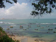 Praia de Pipa em Tibau do Sul, estado do Rio Grande do Norte, Brasil.  Fotografia: Helder da Rocha.
