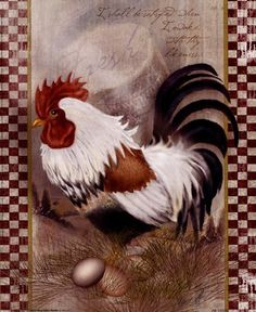 Coat Of Many Colors Rooster Fine-Art Print by Alma Lee at FulcrumGallery.com