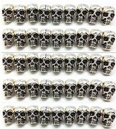 QTMY 50 PCS 4mm Macroporous Skull Spacer Beads for Jewelr... https://smile.amazon.com/dp/B01HS5SON4/ref=cm_sw_r_pi_dp_x_7Z2gAbHVP6AJN
