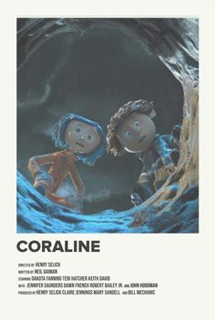 coraline by priya i made this with credit to Andrew sebastian Kwan, send movie requests Horror Movie Posters, Marvel Movie Posters, Disney Movie Posters, Iconic Movie Posters, Minimal Movie Posters, Movie Poster Art, Poster Wall, Poster Prints, Minimal Poster