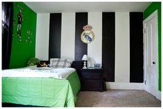 6 Habitaciones infantiles de Fútbol : Y seguimos con la temática Fútbol porque es una decoración que nos encanta, perfecta para ambientar cualquier habitación de niño, hoy te traemos 6 habitaci