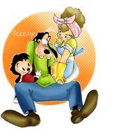 The Goofy Family Unit