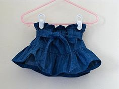need a new Jean skirt for my growing Toddler... this looks like such a cute design!