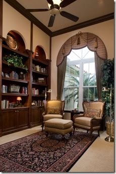 The ABC's of window treatments Cornices are typically made of wood, padded and upholstered with fabric. One great thing about cornices is...