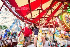 Coney Island Engagement Photos | Irene