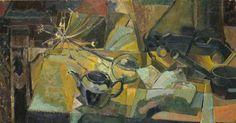 Yellow Still Life. Martin McLean  Davidson.