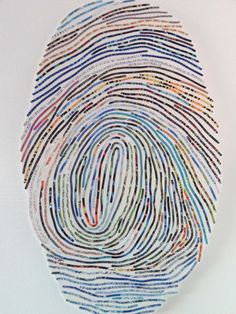 Custom thumbprint art