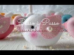 PAP Passarinhos em Feltro - Por Tina Grama