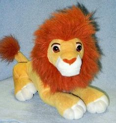 Disney Quot Sweetheart Simba And Nala Quot Plush With Quot Kissing