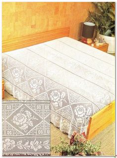copriletto   Hobby lavori femminili - ricamo - uncinetto - maglia