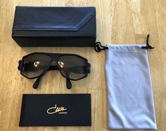 4e6aaa2c36 Cazal Legends Sunglasses. Matte Black And Gold. Worn ONE Time. Authentic   fashion