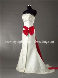 Ivory And Red Wedding Dresses Dress Fric Ideas