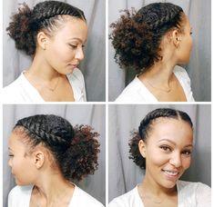 Pin By Nani On Natural Hairstyles Flat Twist Hairstyles Flat Twist Hairstyles, Afro Hairstyles, African Hairstyles, Wedding Hairstyles, Medium Hairstyles, School Hairstyles, Updo Hairstyle, Natural Hair Tips, Natural Hair Styles