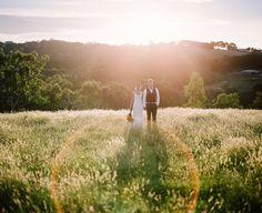 Sun soaked couple portraits #wedding