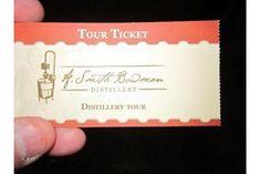 Take a complimentary tour of A. Smith Bowman Distillery in Fredericksburg, Virginia.