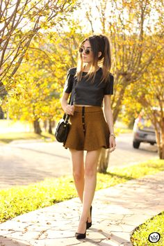 FashionCoolture - 14.06.2015 look du jour Esdra Chicwish girly outfit cute skirt…