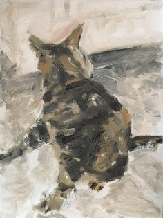 Cats, Painting, Gatos, Paintings, Draw, Kitty, Serval Cats, Cat, Drawings