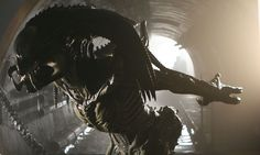 """The """"Predalien"""" hybrid from Alien vs. Predator. Creating a new alien species with special effects character creation masters, ADI."""