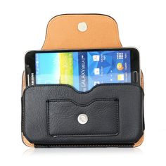 Hot-sale Man Genuine Leather Mobile Phone Cases Waist Bag Purse Card Phone Wallet - NewChic