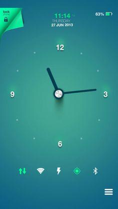 [홈팩버즈]에서 멋진 홈스크린을 만나보세요! Rohit Nagpure | My Homepack Clock....