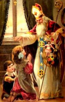 Saint Nicholas - God, guide and protect our children. Keep them safe from all harm and help them grow to become loving disciples of Jesus in your sight.  Give them strength to always mature  into deeper faith in you, and to keep alive joy in your creation.  Through Jesus Christ Our Lord.  Amen.