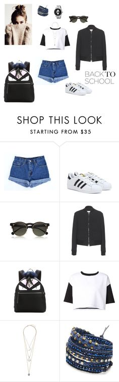 """""""Untitled #287"""" by hsv009 ❤ liked on Polyvore featuring Levi's, adidas, Monki, RED Valentino, Fendi, ComeForBreakfast, Topshop, NAKAMOL and Tommy Hilfiger"""