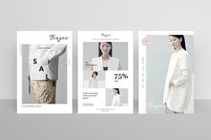 Postcard Flyers Fashion on Behance