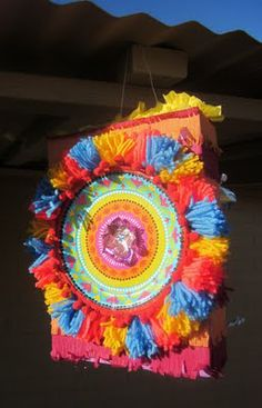 Cinco de Mayo  pinata craft
