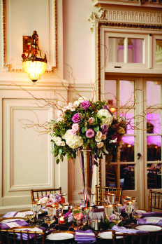 The Roaring Twenties  | Top Wedding Trends for 2014: Dramatic Flowers