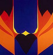 Re-entry, Jack Youngerman Art Decor, Art, Abstract, Milwaukee Art Museum, Haitian Art, American Art, Painting, Abstract Painting, Abstract Expressionist