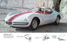 """Pininfarina Alfa Romeo """"Giulia tubolare 1600"""". Stile italiano"""