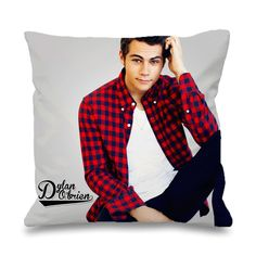 Dylan O'brien Style Pillowcases Pillow Cases This pillow cover made from high quality drapery weight 50% cotton fabric and 50% Polyester with hidden zipper closure. All seams are surged to prevent fra