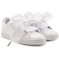 Puma Basket Patent Sneakers ( 115) ❤ liked on Polyvore featuring shoes dc4bc8ca8