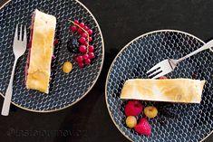 Křehké těsto se ideálně hodí k jablečno-švestkové náplni štrúdlu Cantaloupe, Dairy, Cheese, Fruit, Food, Fine Dining, Essen, Meals, Yemek
