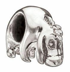 $38.00 Sterling Silver Eeyore Bead