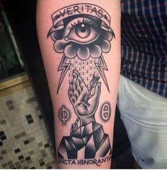 ⚡️ #Tattoo #ForearmTattoo #BlackTattoo