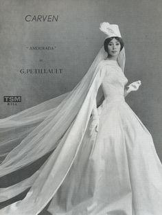 vintage carven bridal.