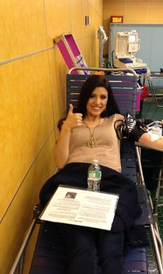 giving blood is all ways a good thing