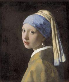 Vaste collectie Mauritshuis- Vermeers Meisje met paarlen oorbel