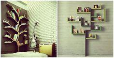 Tree Shape Wall Shelves Design Id817 - Modern Storage Unit Designs - Furniture Designs - Product Design