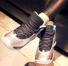half off 62fc1 a2601 Nike Air Jordan Retro 10 Lady Liberty Shoes