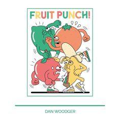 Fruit Punch Tee - by @danwoodger / #iriedaily #artistline #danwoodger