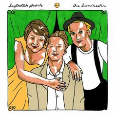 Daytrotter Presents No. 1 - The Lumineers & The Civil Wars vinyl The Lumineers, Sing To Me, Internet Radio, Singing, Folk, Songs, Baseball Cards, Music, Illustration