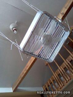 ghetto ceiling fan